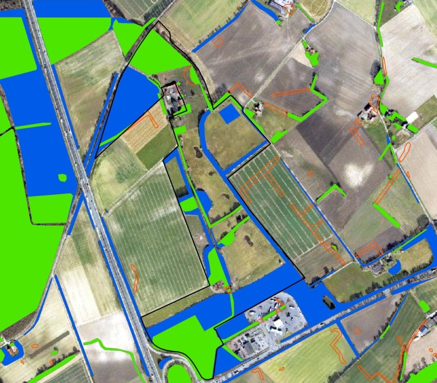 Gebiet mit Umfeld heute (Luftbildbefliegung 2011bis 2016). Regionalverband Ruhr, CC BY-NC-SA 4.0