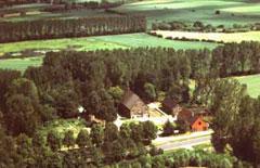 Ökologiestation mit Sitz der Biologischen Station in der Lippeaue bei Bergkamen