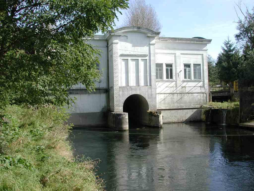 Laufwasserkraftwerk Wickede  – regenerative Energie zum Preis der Stauhaltung