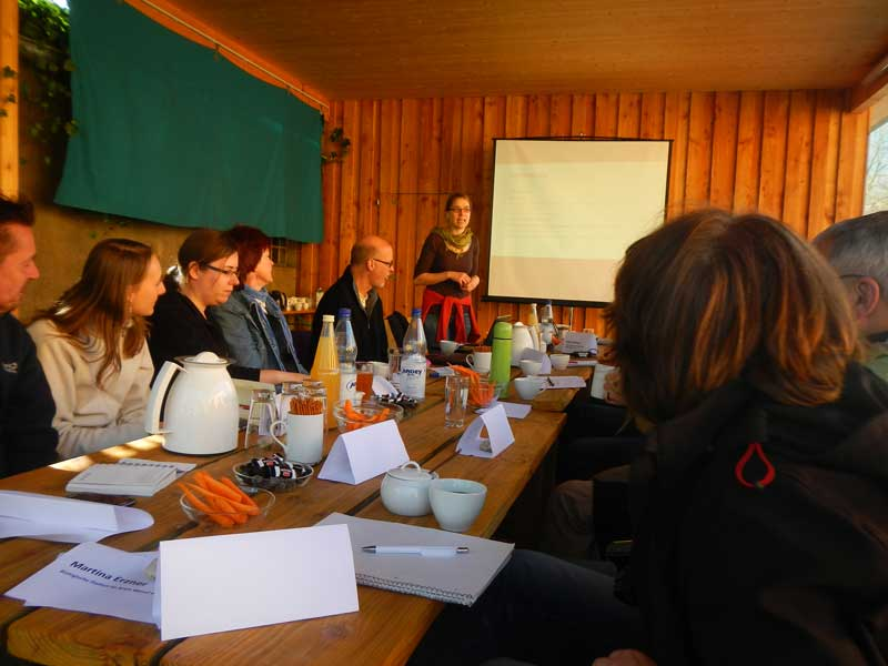 Treffen der Botaniker der Biostationen in NRW auf der Ökologiestation in Bergkamen-Heil